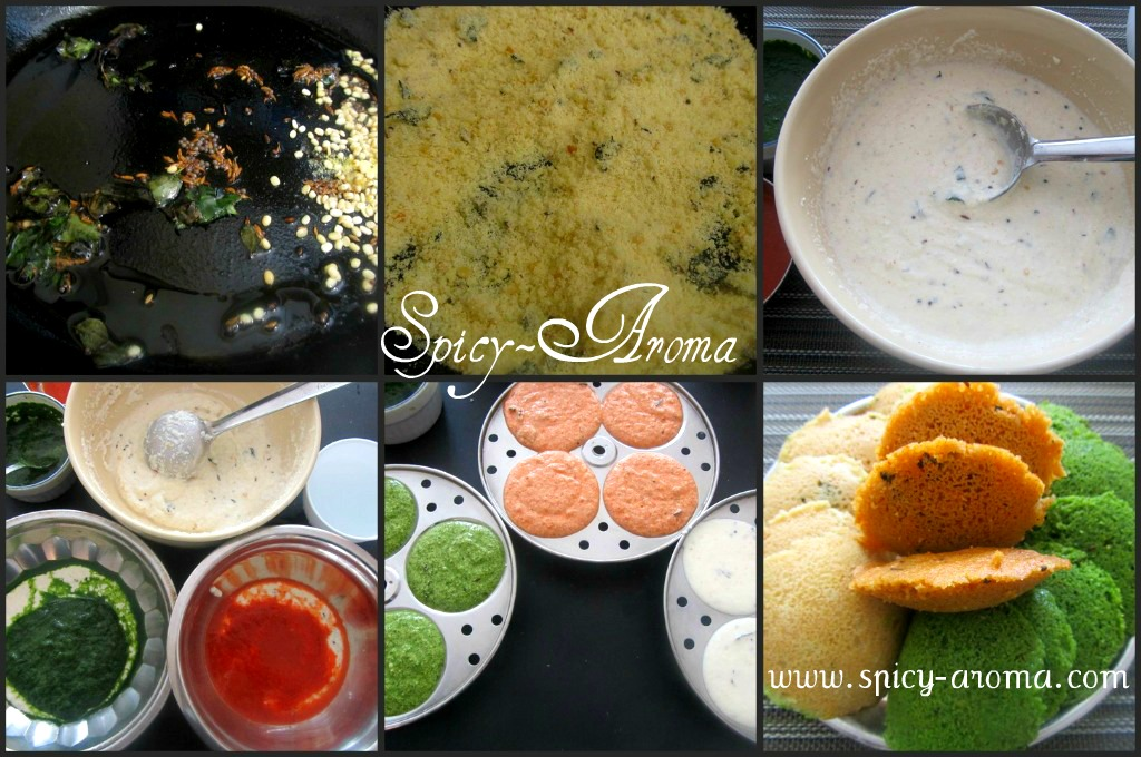 how to make rava ki idli