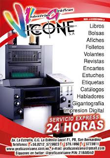 INDUSTRIAS GRAFICAS VICONE, S.A. en Paginas Amarillas tu guia Comercial