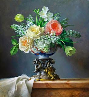 Flores Frutas Realistas Cuadros