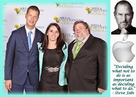 Marisa da Silva, Steve Wozniak and JT Foxx