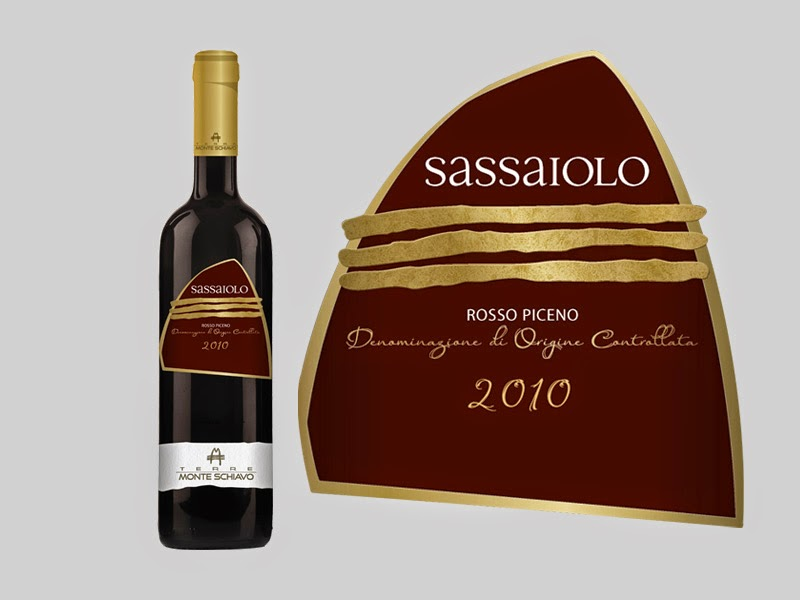 vino design packaging grafica etichette conero rosso linea gamma naming visual