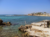 Caesarea Harbor, Mediterranean Coast, Israel