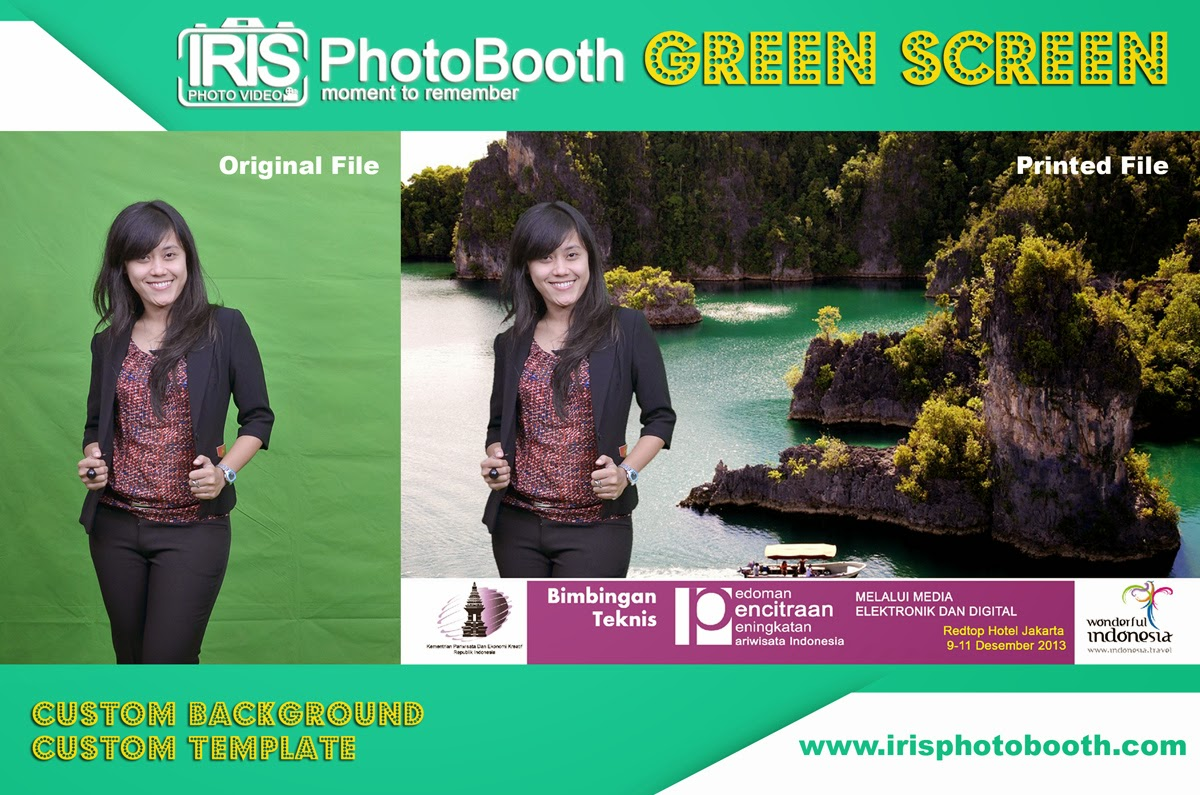 Jasa Photo Booth Green Screen