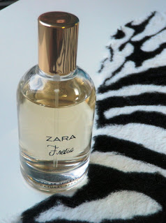Review of ZARA Fresia fragrance.