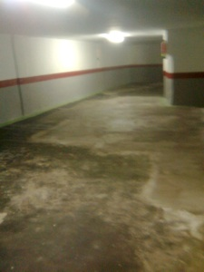 Vtp pinturas impermeabilizaci n de fachadas deslunados medianeras terrazas bajantes pintar - Pintura suelos garaje ...
