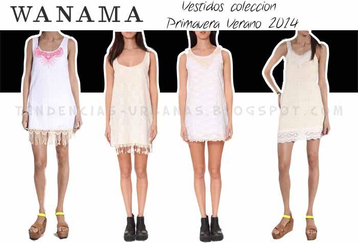 Wanama vestidos urbanos verano 2014