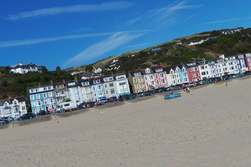 Aberdovey beach Wales
