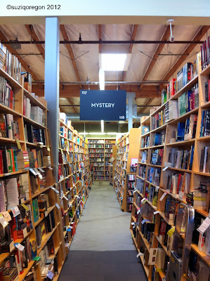 Powell's Mystery Section