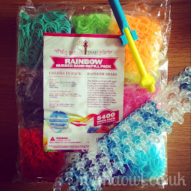 Rainbow Braid 5400 Refill Kit (Loom & Hook not included)