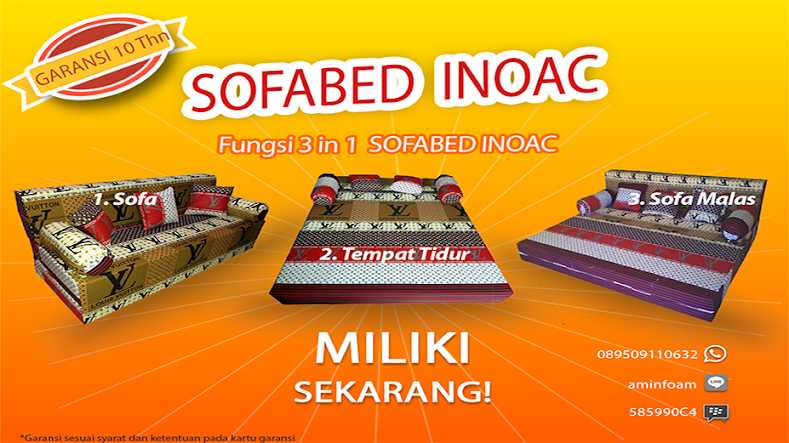 Sofabed Busa INOAC