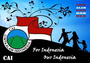 CAI, cinta alam indonesia, komunitas, indonesia,artwork, badges, community