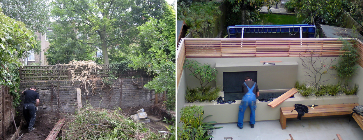 MyLandscapes Garden Design: Before and After photos of ...