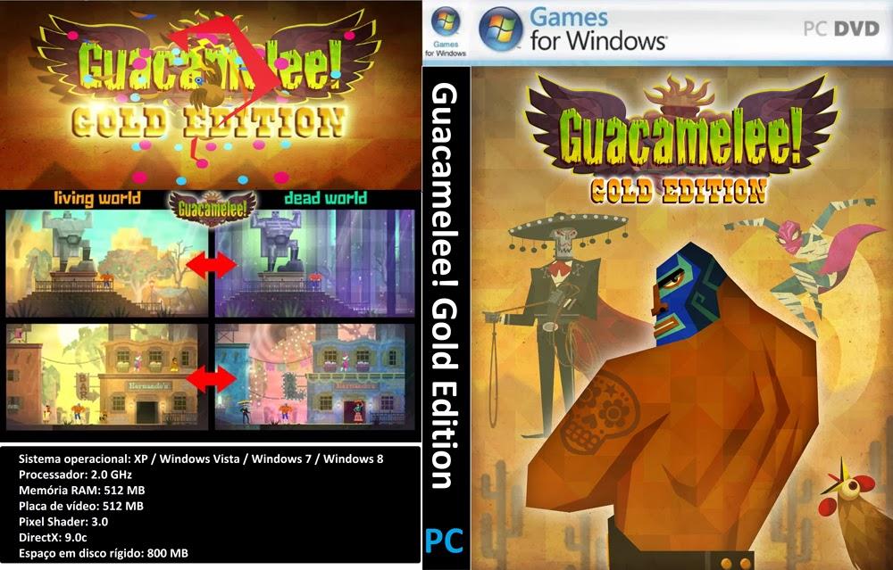 Guacamelee! Gold Edition PC DVD Capa