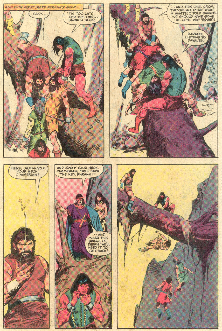 Conan the Barbarian (1970) Issue #140 #152 - English 20