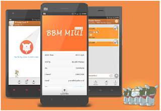 BBM Mod MiUI Theme v2.8.0.21 New Update