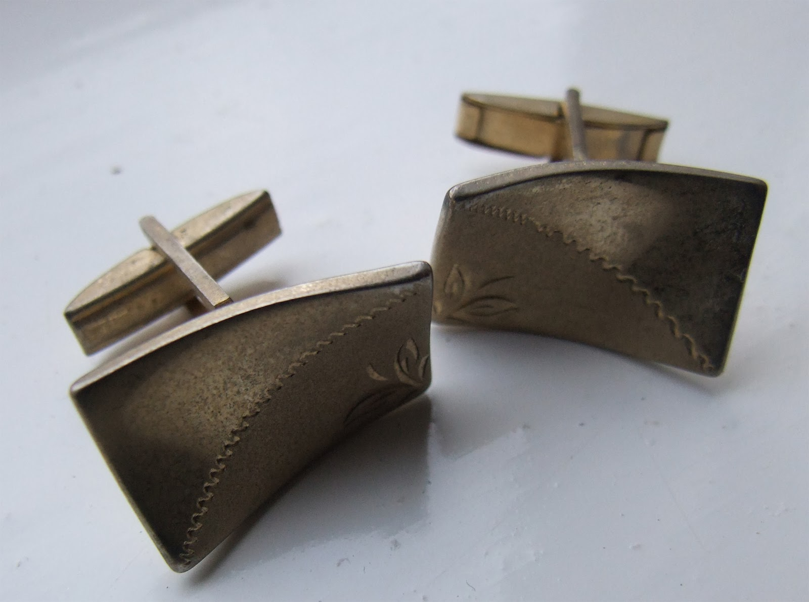 Antique and Vintage Costume Jewellery: Vintage Men's Tie ...