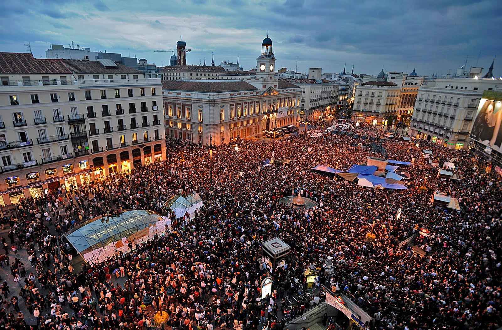 Looking To The Left Spain S May 15 Protest Movement