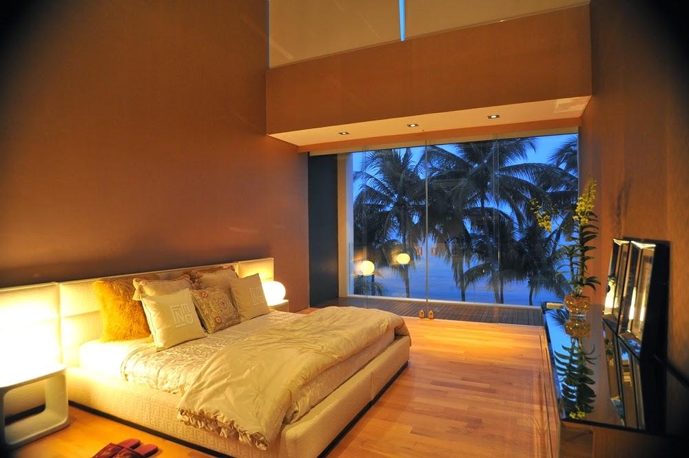 desain kamar tidur natural kayu