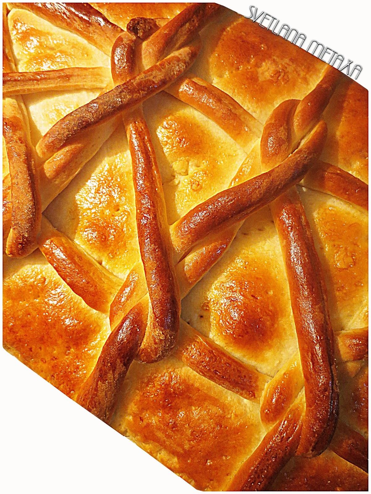 Пироги с персиковым вареньем рецепт