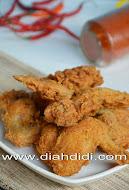 Ayam Krispi Pedas