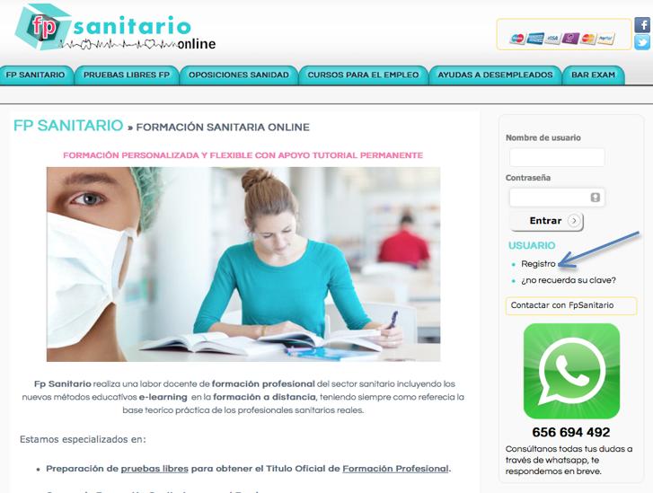 Fp sanitario taller gratuito introducci n a uci para for Aula virtual fp valencia