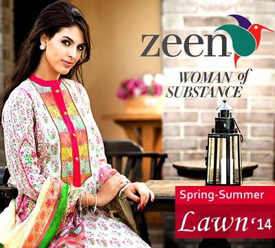 ZEENLawnSummerCollectionByCambridge - Zeen Summer By Cambridge Lawn Dresses 2014