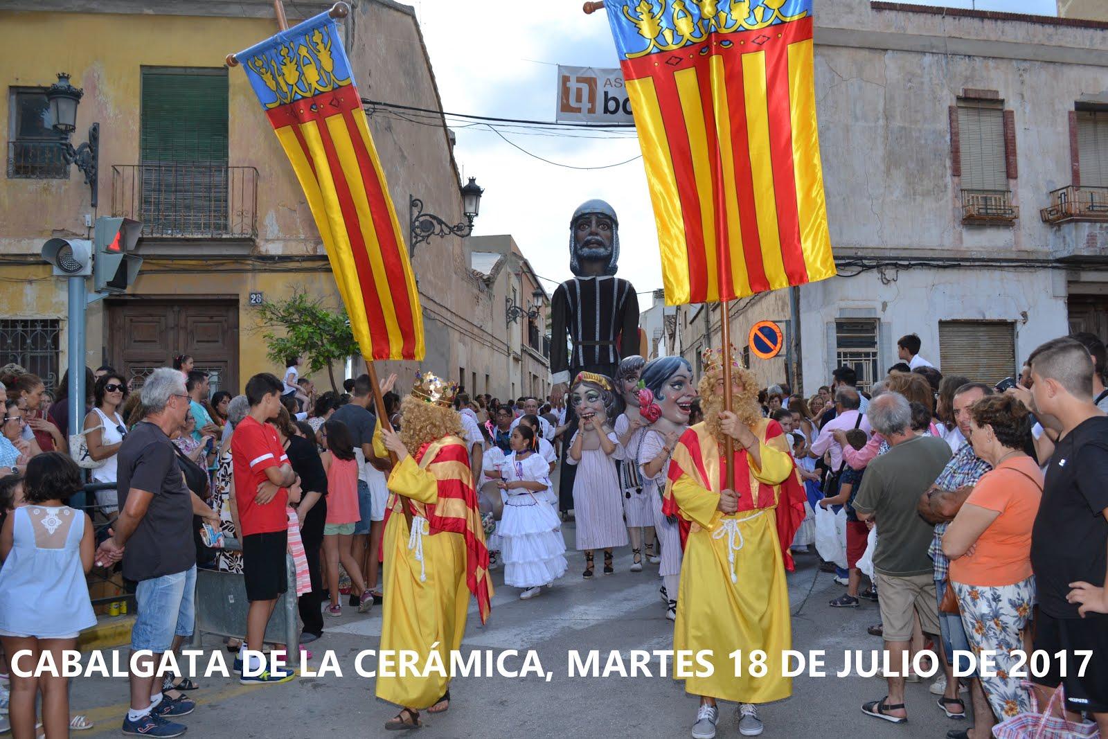 18.07.17 LA CABALGATA DE LA CERÁMICA, UNA TRADICIÓN CENTENARIA