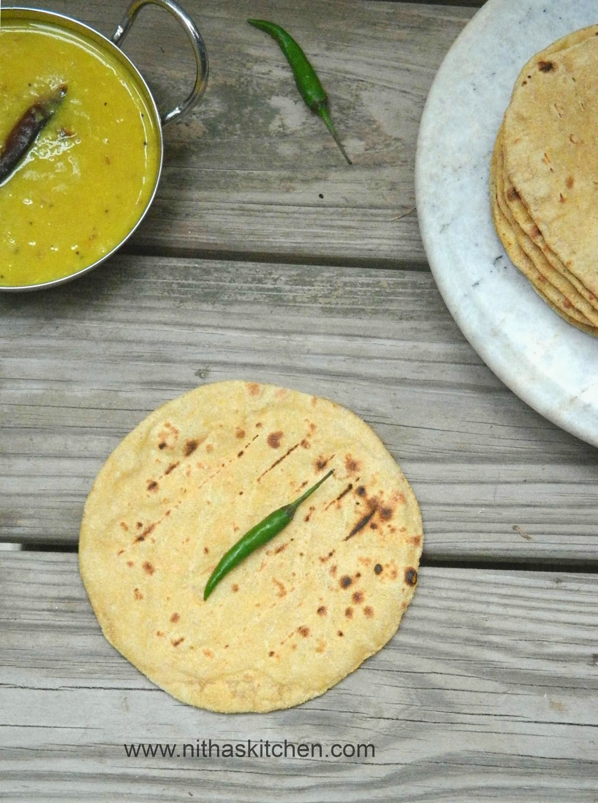how to make dhal for chapathi