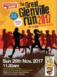 Glenville 4 mile race nr Watergrasshill...Sun 26th Nov 2017
