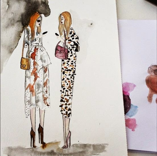 vanessa datorre fashion illustration
