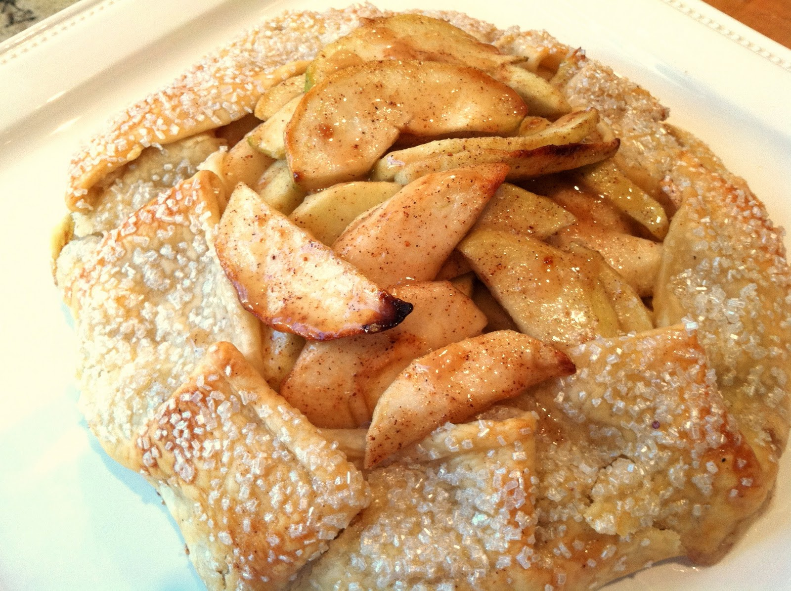 Everything Tasty from My Kitchen: Rustic Apple Tart