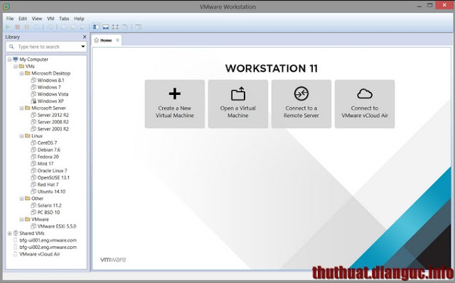 Download VMWare 11 full mới nhất – Phần mềm máy tính ảo