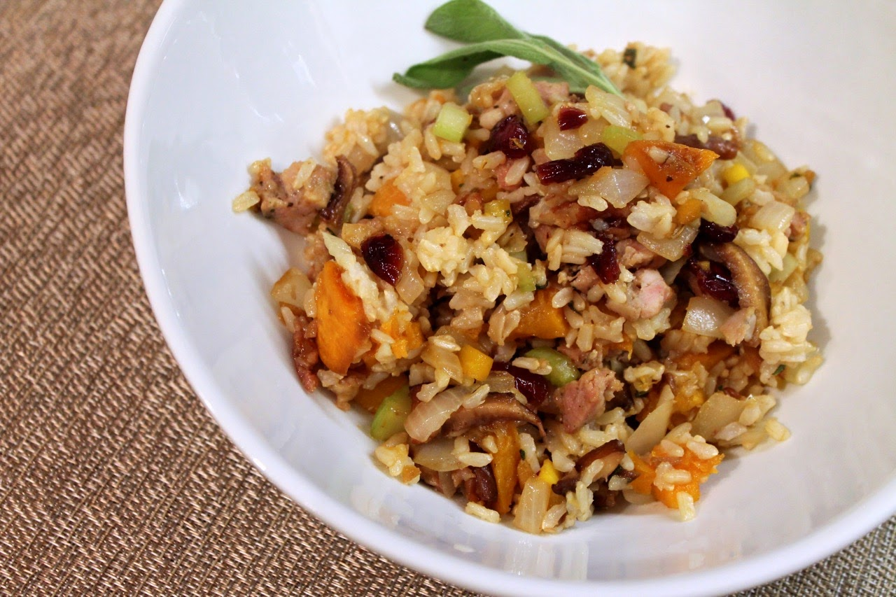 Asian Grain Stuffing