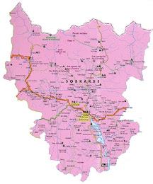 Mapa de Sobrarbe