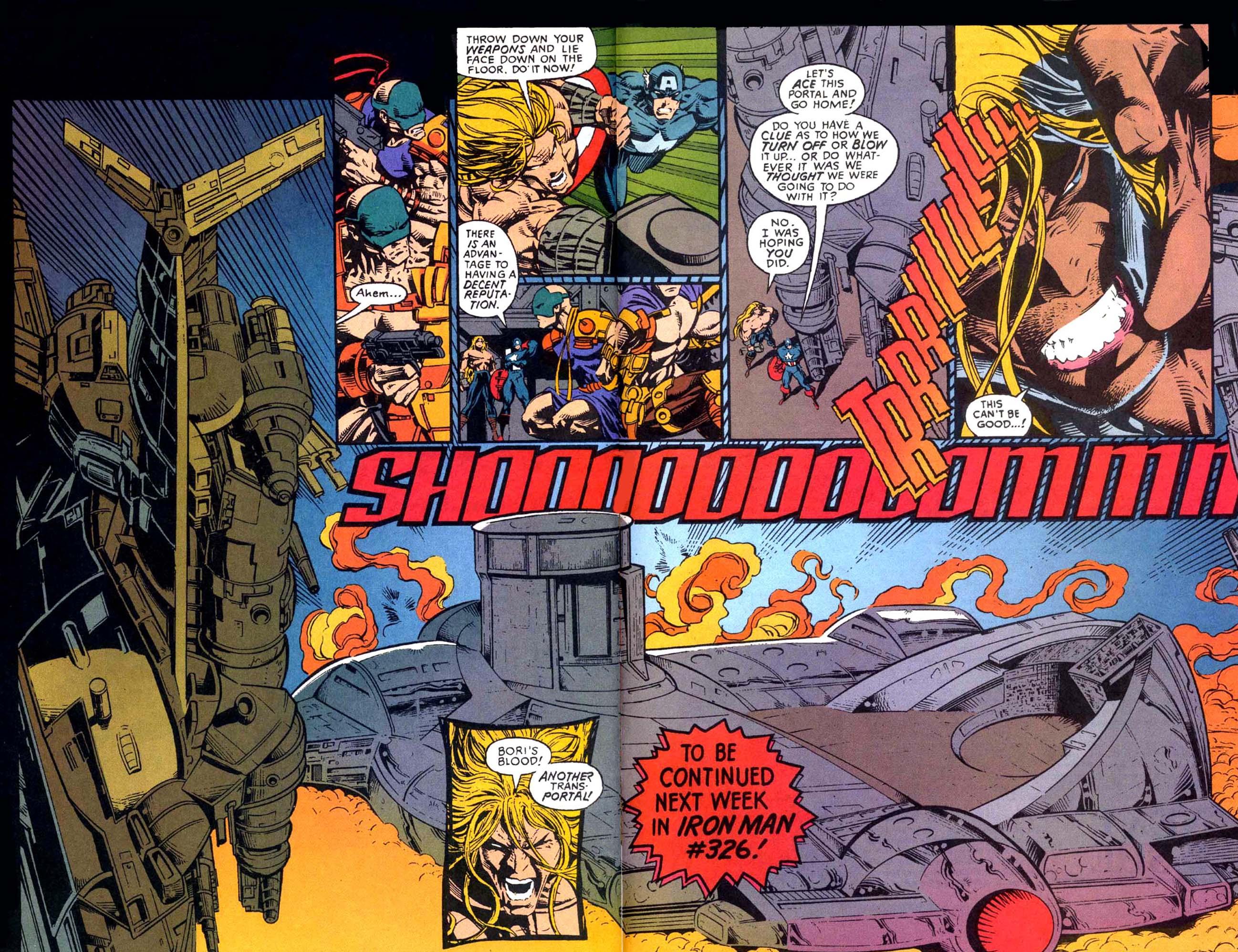 Captain America (1968) Issue #449b #404 - English 18