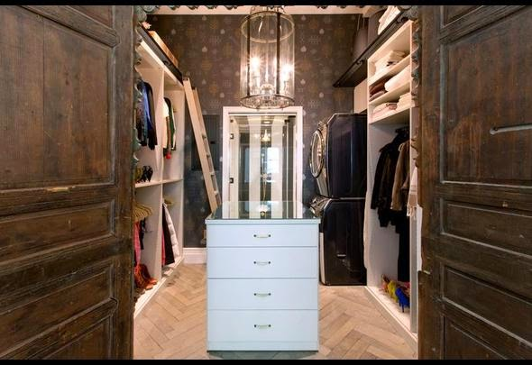 What Struck Me As Completely Awesome Is The Washer And Dryer In This  Beautiful Master Bedroom Closet. What A Great Idea.