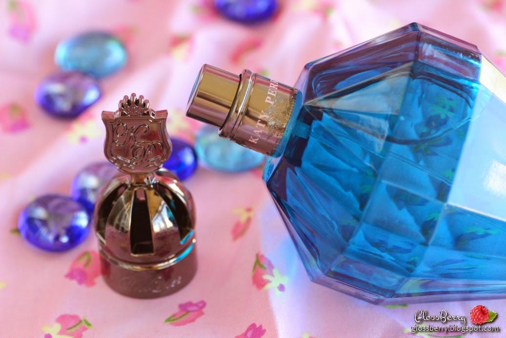 katy perry royal revolution blue perfume edp 100ml review scent smell סושם כחול קייטי פרי בושם בלוג איפור וטיפוח Glossberry  גלוסברי