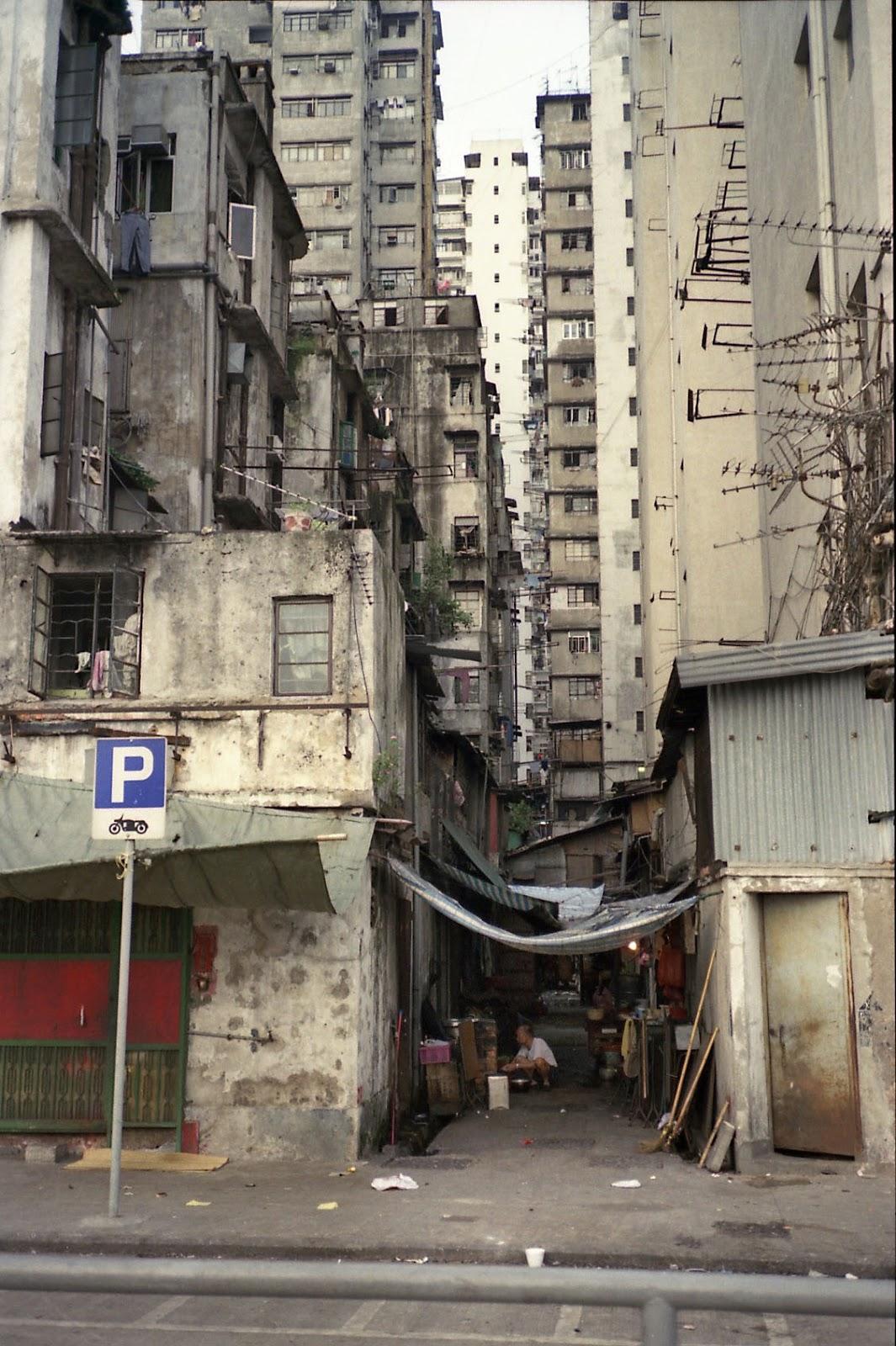 香港,海外,ビル,スラム街〈著作権フリー無料画像〉Free Stock Photos