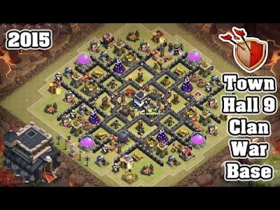TH9 War Base COC 2015