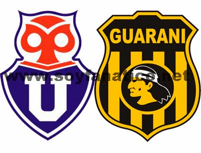 U de Chile vs Guarani 2014 - Partido de Vuelta