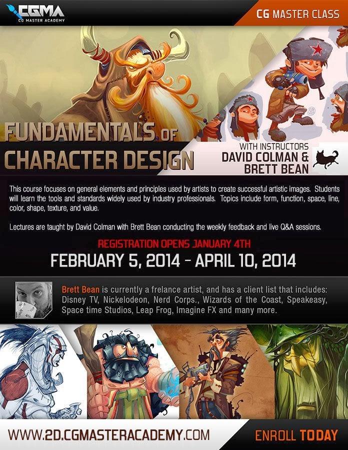 The Art Of Character Design With David Colman Download : D bean art concept visual development doodles