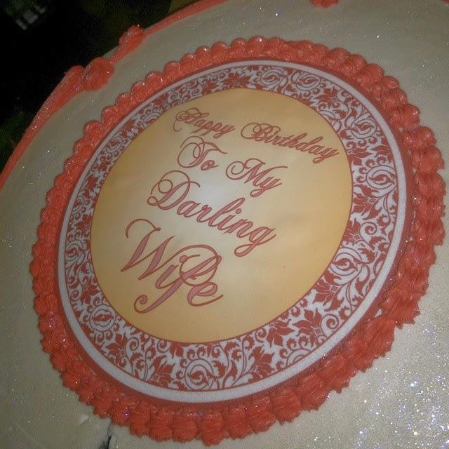 Caroline Danjuma's Birthday Cake