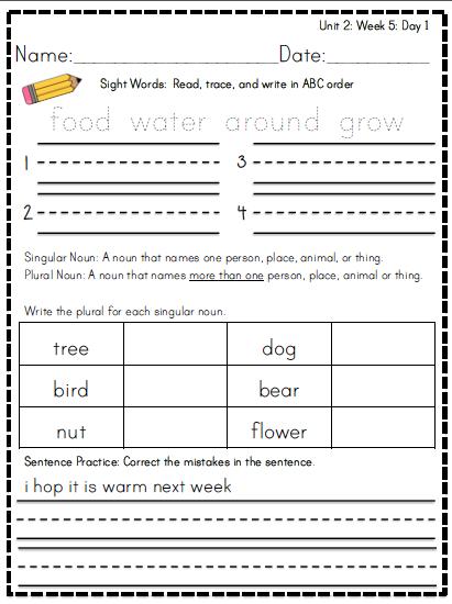 http://www.teacherspayteachers.com/Product/Reading-Street-Morning-Word-Work-UNIT-2-FIRST-GRADE-968601