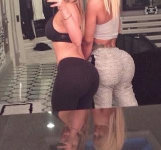 sexy booty Kim Kardashian hot selfie