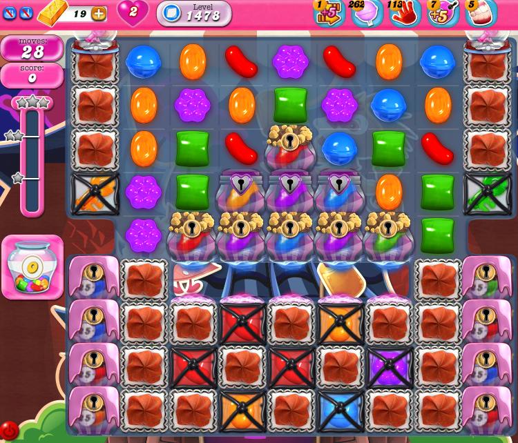 Candy Crush Saga 1478