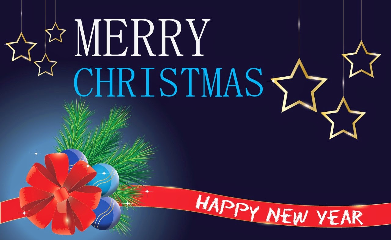 merry christmas and happy new year 2015 greeting