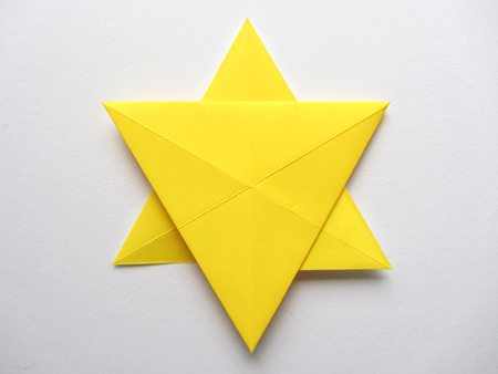 origamiinstructionscom origami star of david