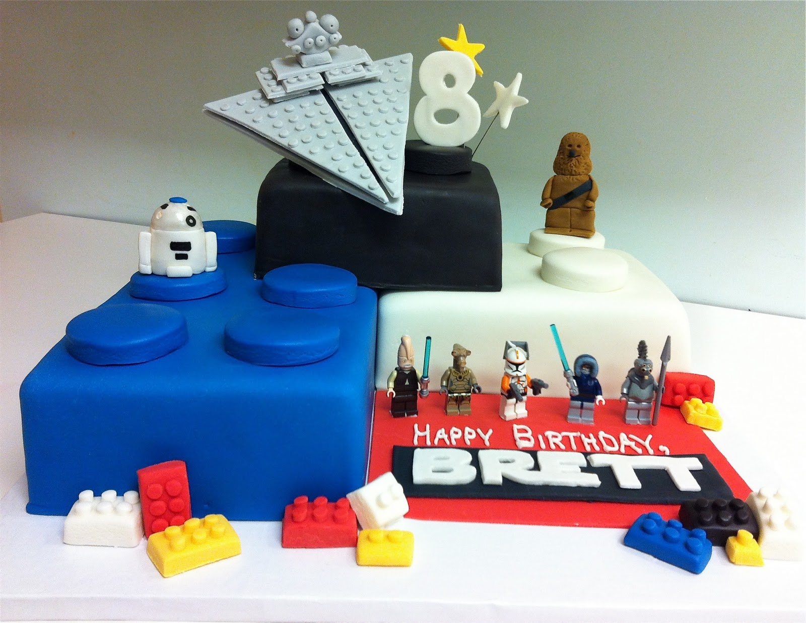 pics for lego star wars birthday cakes. Black Bedroom Furniture Sets. Home Design Ideas