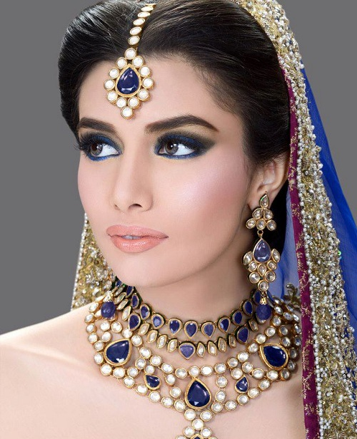 Bridal Makeup Pics Latest : Pakistani Bridal Makeup l Latest New Bridal Wedding Makeup ...