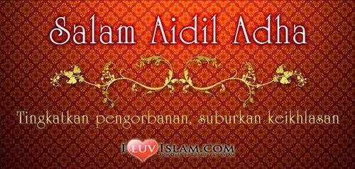 Salam Raya Aidiladha 10 Zulhijjah drp Dr Hasbi sekeluarga